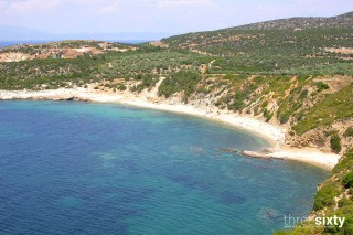 about thassos christin apartments beaches